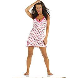 Stretch Cotton Chemise with G string