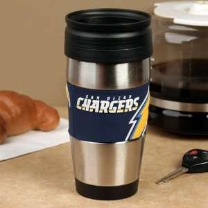 NFL San Diego Chargers Stainless Steel & PVC Travel