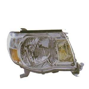 2005 08 TOYOTA TACOMA HEADLIGHT ASSEMBLY, DRIVER SIDE   DOT Certified