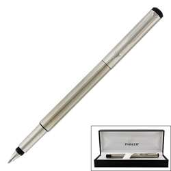 Parker Vector Stainless Steel Medium Point Fountain Pen