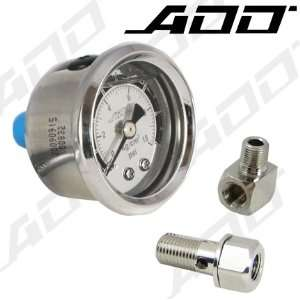 140 PSI Mechanical Liquid Filled Gauge Fuel Pressure Gauge