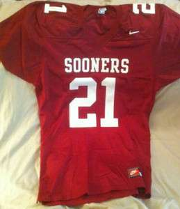 University of Oklahoma Sooners Nike Football Game Jersey