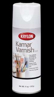 KRYLON 1312 KAMAR VARNISH Aerosol Color Spray Paint Can