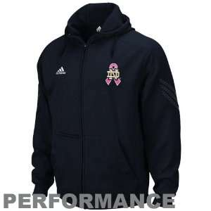 adidas Notre Dame Fighting Irish Navy Blue 2011 Breast