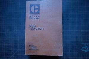 CAT Caterpillar D9G Dozer Crawler Part Manual Book 66A