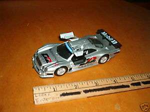 WELLY MERCEDES BENZ CLK GTR D2 PRIVAT#11 1/43 SCALE