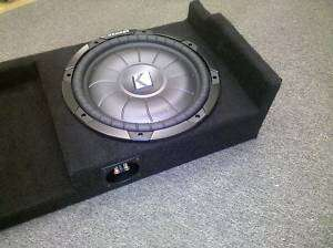 2007 up Chevy Silverado Ext Cab 12 Subwoofer Box