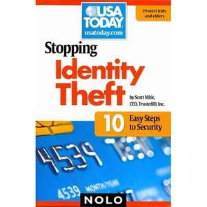 Theft 10 Easy Steps to Security, Mitic, Scott Business & Investing