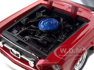 diecast car model of 1967 Ford Mustang GT die cast car by Maisto