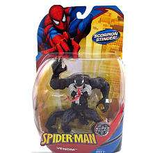 Spider Man Classic Heroes   Venom Action Figure with Scorpio Stinger