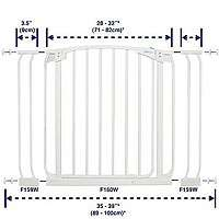 Dreambaby Auto Close Security Gate Value Pack  2 Gates and 2 Extenions