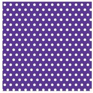 Lets Party By Amscan Purple with Polka Dot Jumbo Gift Wrap