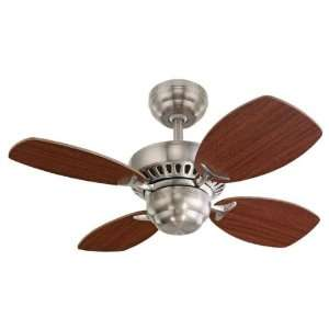 Monte Carlo Fans 4CO28BS Steel Ceiling Fan Steel
