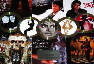 Michael Jackson Thriller Gold Platinum Record Award Display non