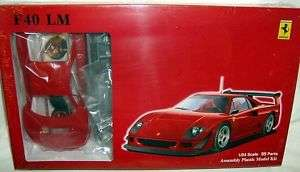 fujimi 1/24 FERRARI F40 LeMANS COUPE SUPER SPORTS CAR