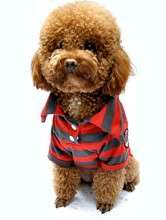 Fashion Polo Pet Dog Clothes Dress Puppy Shirt Apparel