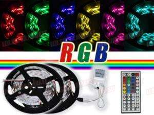 5050 SMD LED Strip 300leds + 44 keys Remote Control + power adapter L