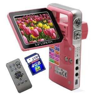with a 2.5 TFT LCD Monitor (Free 4GB SDHC Card)