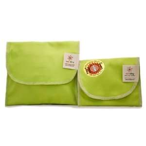Ecoditty Sandwich & Snack Bag, in Spring Green Kitchen