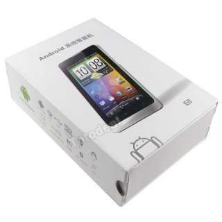 WCDMA+GSM Dual SIM Android 2.3 PDA Smart phone W/TV WIFE GPS