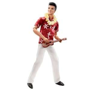 Barbie Elvis Presley Collection Classic Edition Elvis In Blue Hawaii
