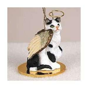 Black & White Cat Ornament