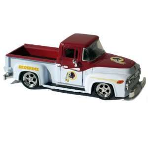 1956 Ford F 100 Pick Up Truck   Washington Redskins