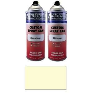 Oz. Spray Can of White Pearl Tri coat Touch Up Paint for 1999 Ford