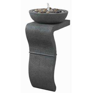 Kenroy Home Sinuous Indoor 31 in. Floor Fountain 50199WG at The Home