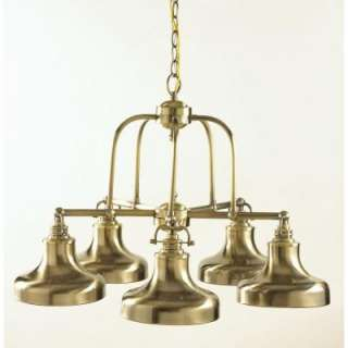 Hampton Bay Nautical 5 Light Chandelier 19106 021