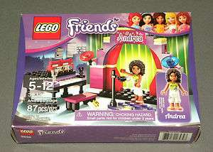 NEW Girls LEGO Friends Set 3932 Andreas Stage Sealed 673419165747