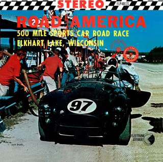 1963 Road America 500 Mile Sports Car Road Race CD NEW