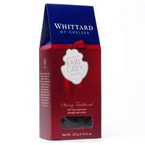 Whittard Black Tea Breakfast Earl Grey Loose Leaf Tea Packet / 125g