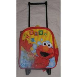 Sesame Street Elmo Rolling Toddler Backpack Toys & Games
