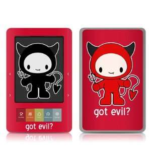 Evil Design Protective Decal Skin Sticker for Barnes and Noble NOOK
