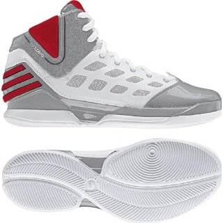Adidas Adizero Rose 2.5   Black/red/white Bulls (Dominate) Shoes