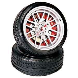 BBS Wheels Rims Tire Alarm Clock w/ Brake & Caliper