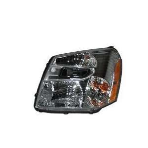 Chevy Equinox Chrome Headlight OE Style Replacement Headlamp Driver