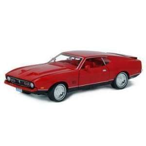 1/18 Diecast Ford Mustang Mach 1 Bond Car From Diamonds