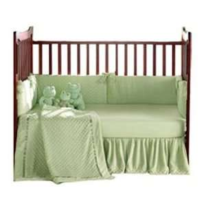 Heavenly Soft Crib Bedding   color Celery Baby
