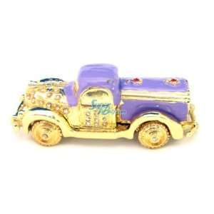Car   Jewelry Trinket Box Swarovski Crystal (JF8033