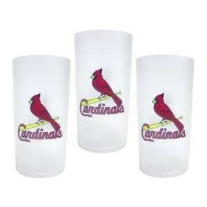 St. Louis Cardinals MLB Tumbler Drinkware Set (3 Pack)