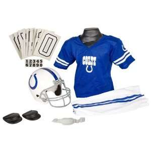 Indianapolis Colts Youth Nfl Deluxe Helmet And Uniform Set (Small