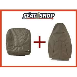 98 99 00 01 02 Ford Expedition Grey Leather Seat Cover bottom & top LH