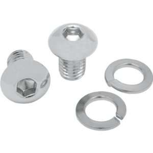 Mustang Chrome Seat Bolts for 84 07 Harley Davidson FXST