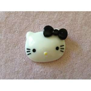 Bow White Kitty Cat Flat Back Resin Cabochons Arts, Crafts & Sewing