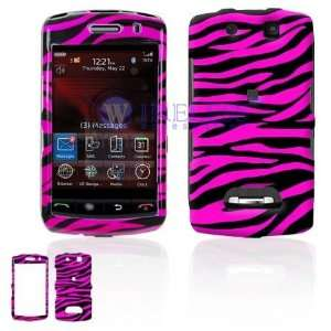 BlackBerry 9530/9500 Storm Cell Phone Hot Pink/Black Zebra