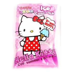 Kitty Sanrio Instant Ice Cool Pack   Pink