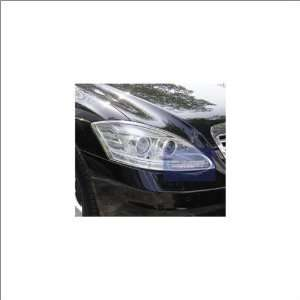 Zunden Trim Chrome Headlight Trim 07 11 Mercedes Benz S600 Automotive