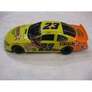 Nascar Die cast SIGNED #23 Kenny Wallace Stacker 2 Racing